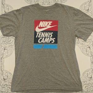 Nike staff member tennis camo t-shirt